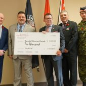 AssessMed Donates $10,000 to Wounded Warriors Canada on Behalf of the Company and Its Clients