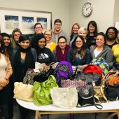 AssessMed Contributes to Fill a Purse for a Sister Campaign